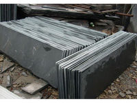 black slate patio slabs/black slate cut to size from Eastwood manufacturer