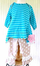 Adorable Baby Clothes Girls Fall Knitted Outfit vintage remake baby girl ruffle outfit