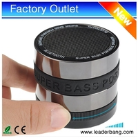 Super Bass Portable Mini Wireless Bluetooth Speaker for MP3 / iPhone / iPad / Samsung / Tablet PC / Laptop