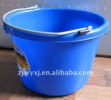 small PP bucket/plastic water bucket/water barrel with handle