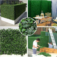 High Quality Artificial Boxwood Hedge Fence