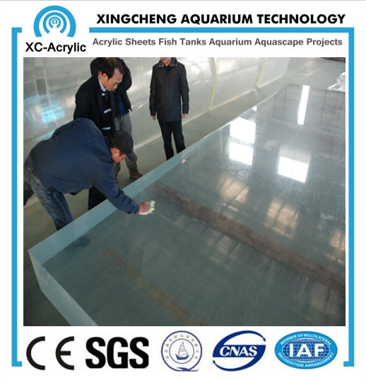XC Made in Suzhou costom Cast acrylic swimming pool sheet