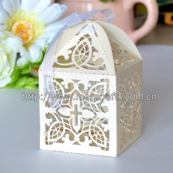 High quality first holy communion gift, holy communion white favor boxes