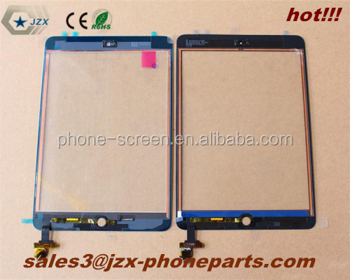 For iPad Mini Digitizer with IC connector Assmebly , For iPad mini touch screen