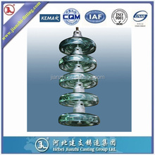 100-140KV cap and pin type toughened glass insulator