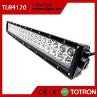 TOTRON Round Design Good Quality Waterproof Curved Led Light Bar Off Road