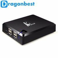 2016 promotion tv box K1 Plus DVB S2/TS 1G/8G Amlogic S905 better than K1 plus tv box k1 plus dvb s2 dvb t2 tv box