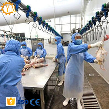 Chicken poultry slaughter and process line slaughterhouse equipment