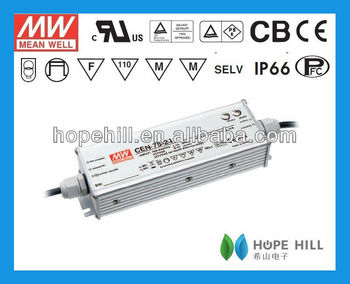 MEANWELL CEN-75-36 75W 36V CE UL Waterproof LED Power Supply LED Driver
