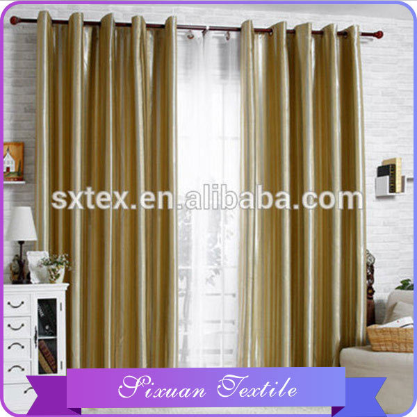 Top Quality For Home Use Wrinkleproof Fabric Casual Curtains