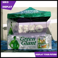 Aluminum pavilion gazebo pop up tent for outdoor advertising