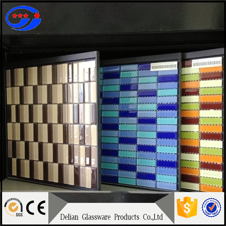 China Factory Crystal Glass Mosaic Tile