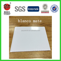 bathroom waterproof white&wooden color pvc wall panel plastic cladding panelling