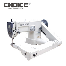 Golden Choice GC1027 Upper & lower feed off the arm single needle small hook industrial zigzag sewing machine