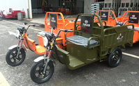 2000W adult electric three wheeler/electric tricycle for cargo
