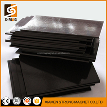 2017New product A4 adhesive flexible magnetic sheets, rubber magnets