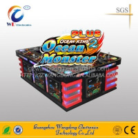 table top game arcade machine,arcade fish hunter dragon king/ocean king 2 plus