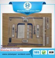 China manufacturer tamper evident seal bags