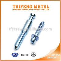 RoHS carbon steel self tapping cross head bolt