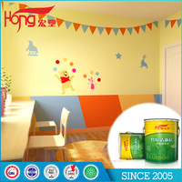 Water resistance good ahesion acrylic emulsion coating wall interior paint for families