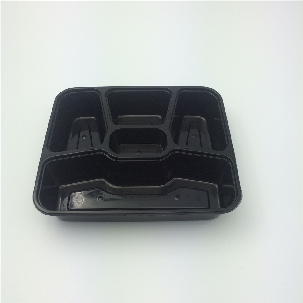 Hot Disposable 5-Compartment Keep Cool Food Container
