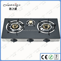 Table Portable 3 Burners India Gas Stove with Cheap Price