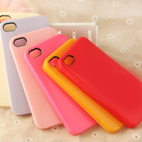 DIY Blank Hard Plastic Phone Case for iPhone4/4S