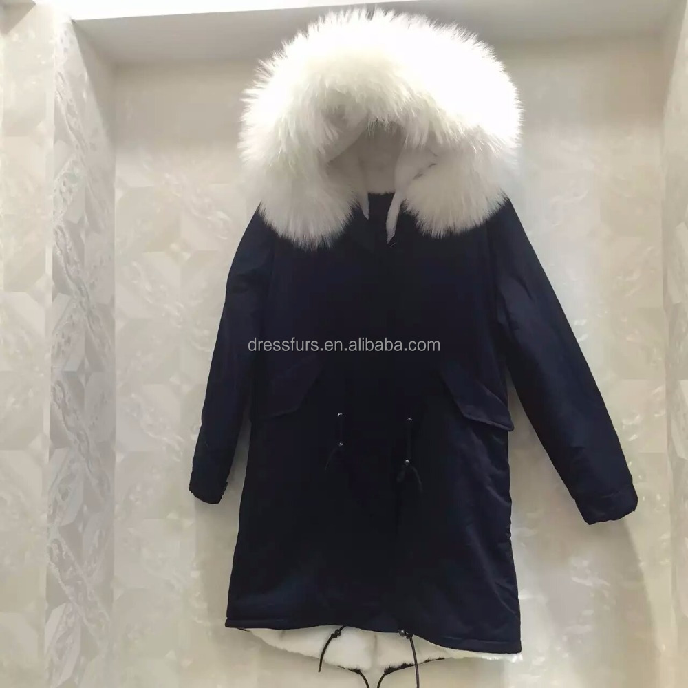 Famous Brand Meifng Man And Women Synthetic Fur Jacket For Sale