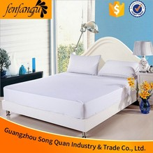 Used Hotel Bedding Sheet,Hotel Single Bed Cheap Rubber Fitted Sheets