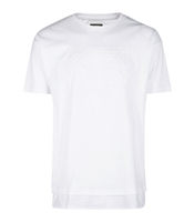cheap cotton plain white embossing long solid tall tee men tshirt t-shirts