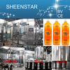 2015 CE certificate Automatic Fruit Juice Processing Plant(three-in-one)