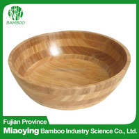 2016 Vegetable Bamboo Salad Lacquer Bowl
