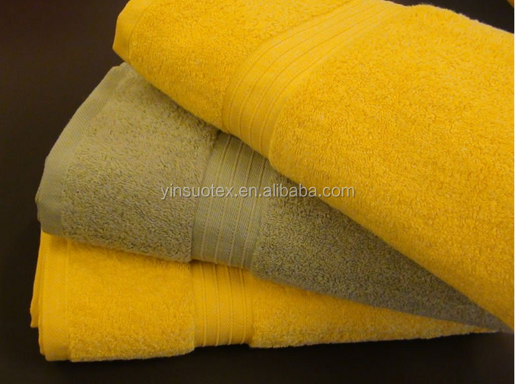 2015 color changing towel with stripe bath