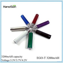 Best selling ego 2200mah II with retail package VS 3200mah ego battery