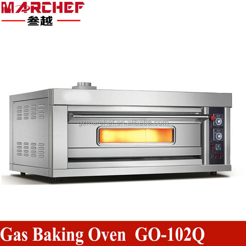 GO-102Q.Double decks single layer catering equipment/Gas bakery bread oven/baking oven