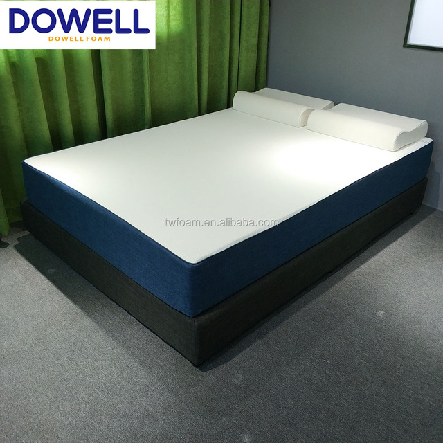 King size topper memory foam mattress