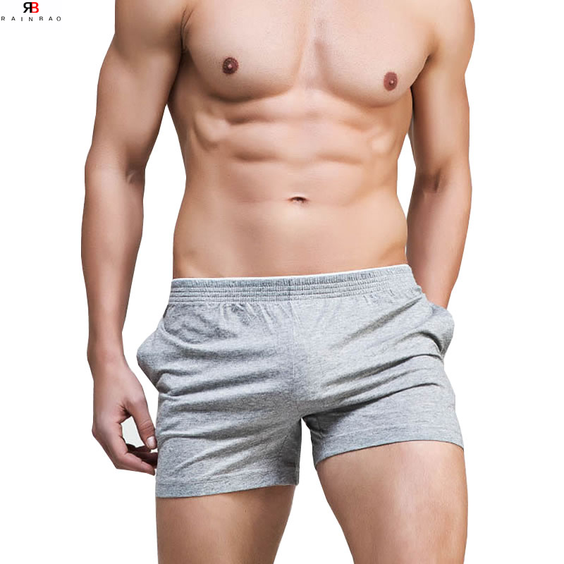 Hot High Quality Men Underwear Boxer Underpants Open Pouch Cotton Pants Trunks Solid Boxer Shorts Plus Size Soft Male Panties Ample Supply And Prompt Delivery Men's Underwear