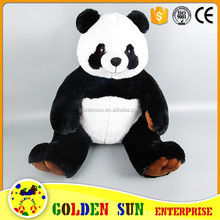 Promotional panda bear stuffed toys wholesale Plush Stuffed Panda Bear Soft Animal For Kids