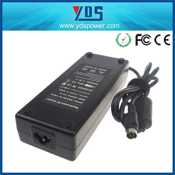 china oem manufacturer ac power adapter charger 4 PIN 24V 5A 120W
