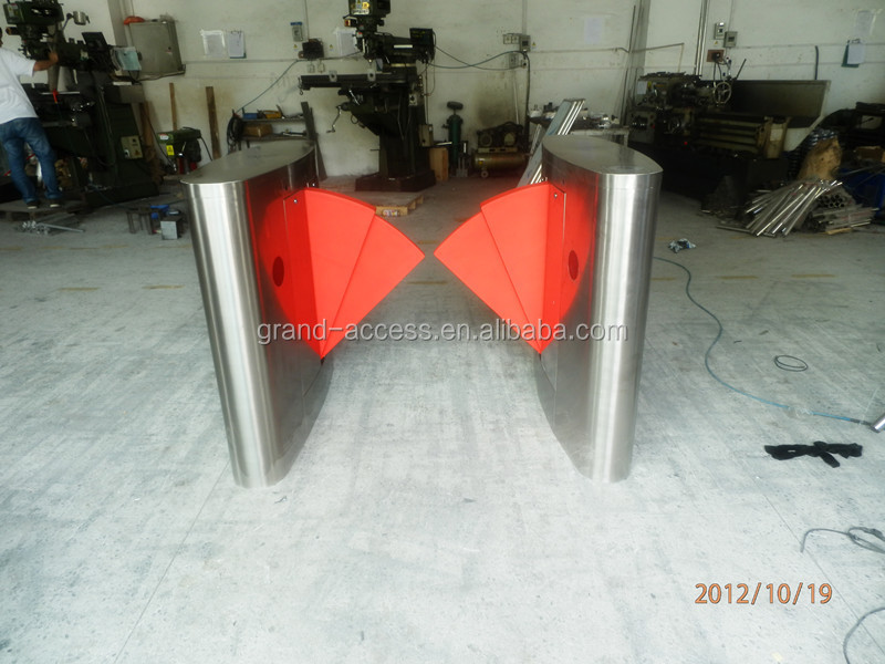 CE Approved 304 Stainless Steel Swing Turnstile,Electronic security entrance turnstile sliding gate
