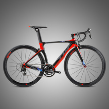 China Bicycle Factory 46CM / 48CM / 50CM / 52CM / 54CM Complete Carbon frame Carbon Fork Cheap Carbon Road Bike for Racing
