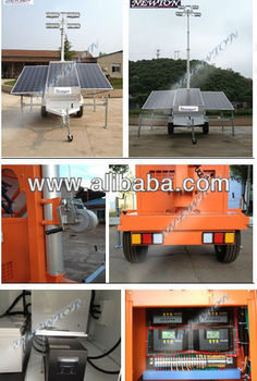 construction solar tower light -UAE-Bahrain-Oman-Ksa-Dubai-Yamen