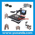 High Quality Flatbed Heat Press Machine,Thermal Transfer Machine/digital Combo 8in1/7ini/6in1/5in1 Heat Press Machine