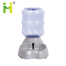3.8L pet accessories dog bowl water bottle automatic dog water bowl