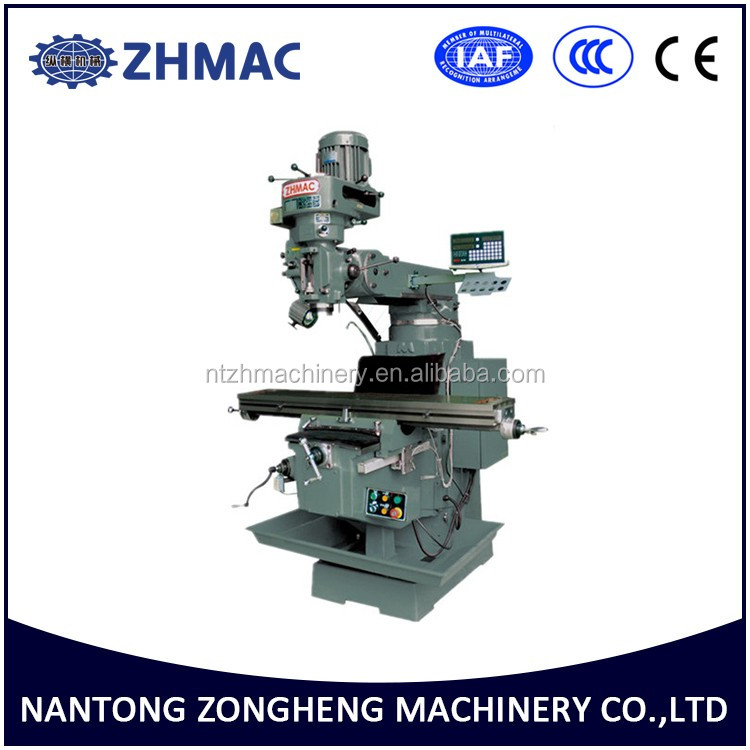 Zongheng Conventional Manual Universal DRO Vertical Turret Milling Machine X6330
