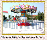 factory direct rides flying carrousel for amusement park for sale
