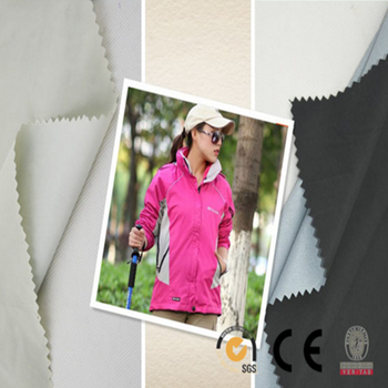 Outdoor functional waterproof taslan fabric/ waterproof PU coated taslan woven fabric for raincoat /taslan sportswear fabrics