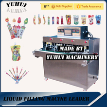 Fruit Flavor juice /Mineral Water in plastic bag/pouch filling and sealing packing machine