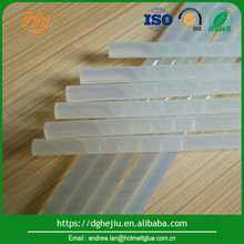 Low&high heat resistance transparent hot melt glue sticks for packing