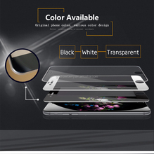 for iphone 6 silicone edge full cover 3d tempered glass for mobile phone free government touch screen phones